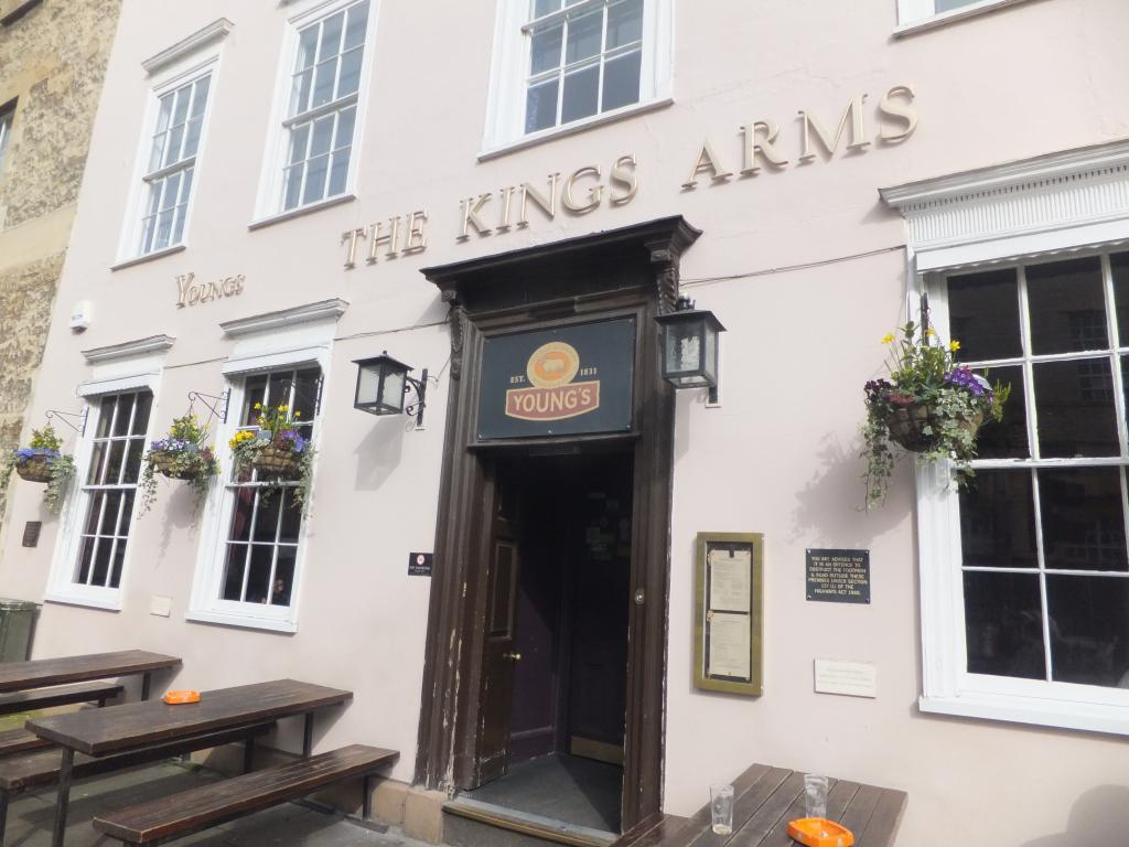 The Kings Arms in Oxford