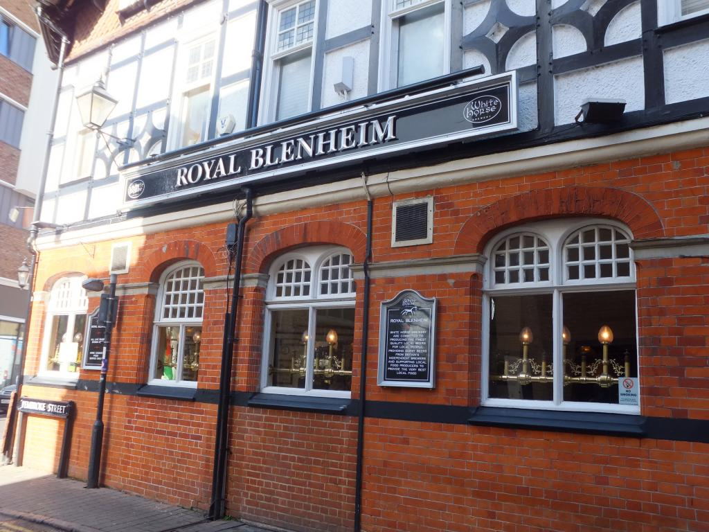 The Royal Blenheim in Oxford