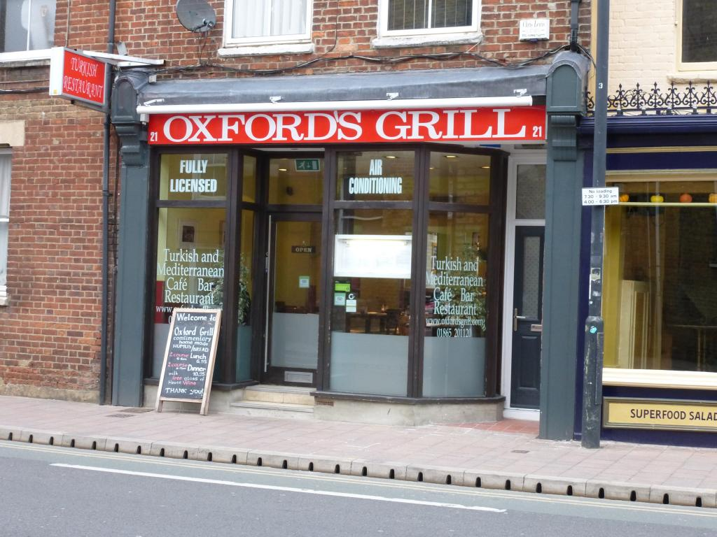 Oxford's Grill Oxford