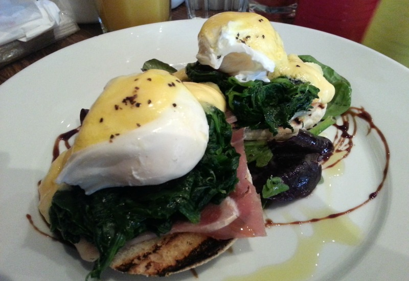 Door 74 Eggs Benedict