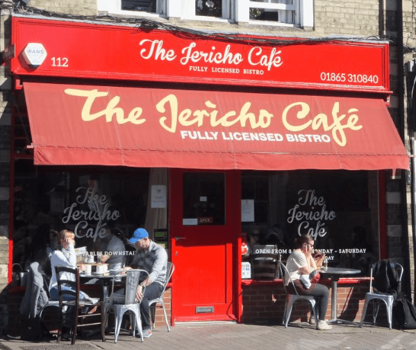 The Jericho Cafe, Oxford | Image credit Bitten Oxford