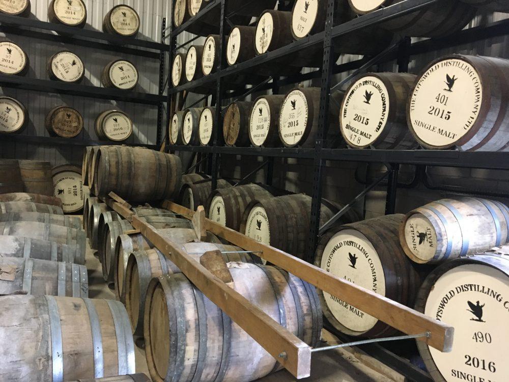 Cotswold Distillery Tour Casks
