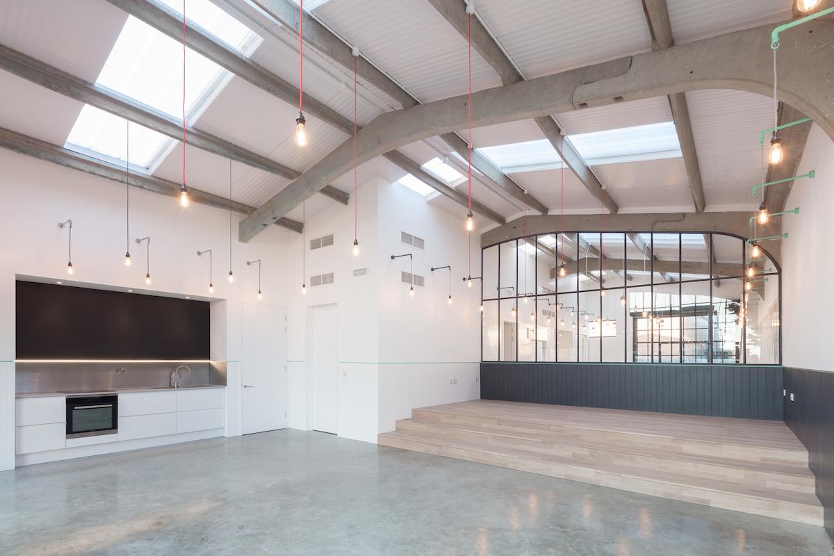 Modern Baker R&D Kitchen, by James Wyman Architects