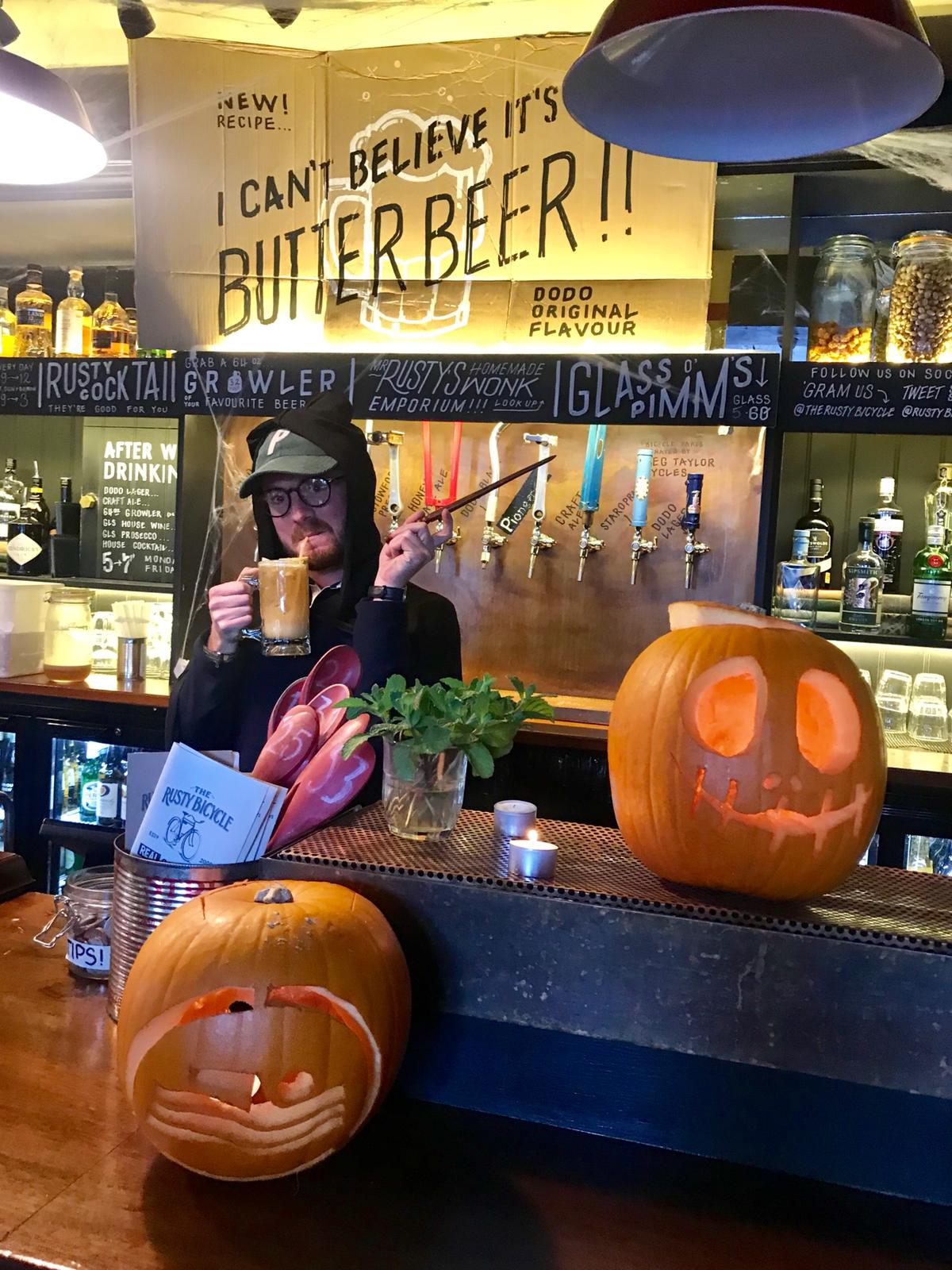 reaky Cauldron at Rusty Bicycle Oxford Halloween