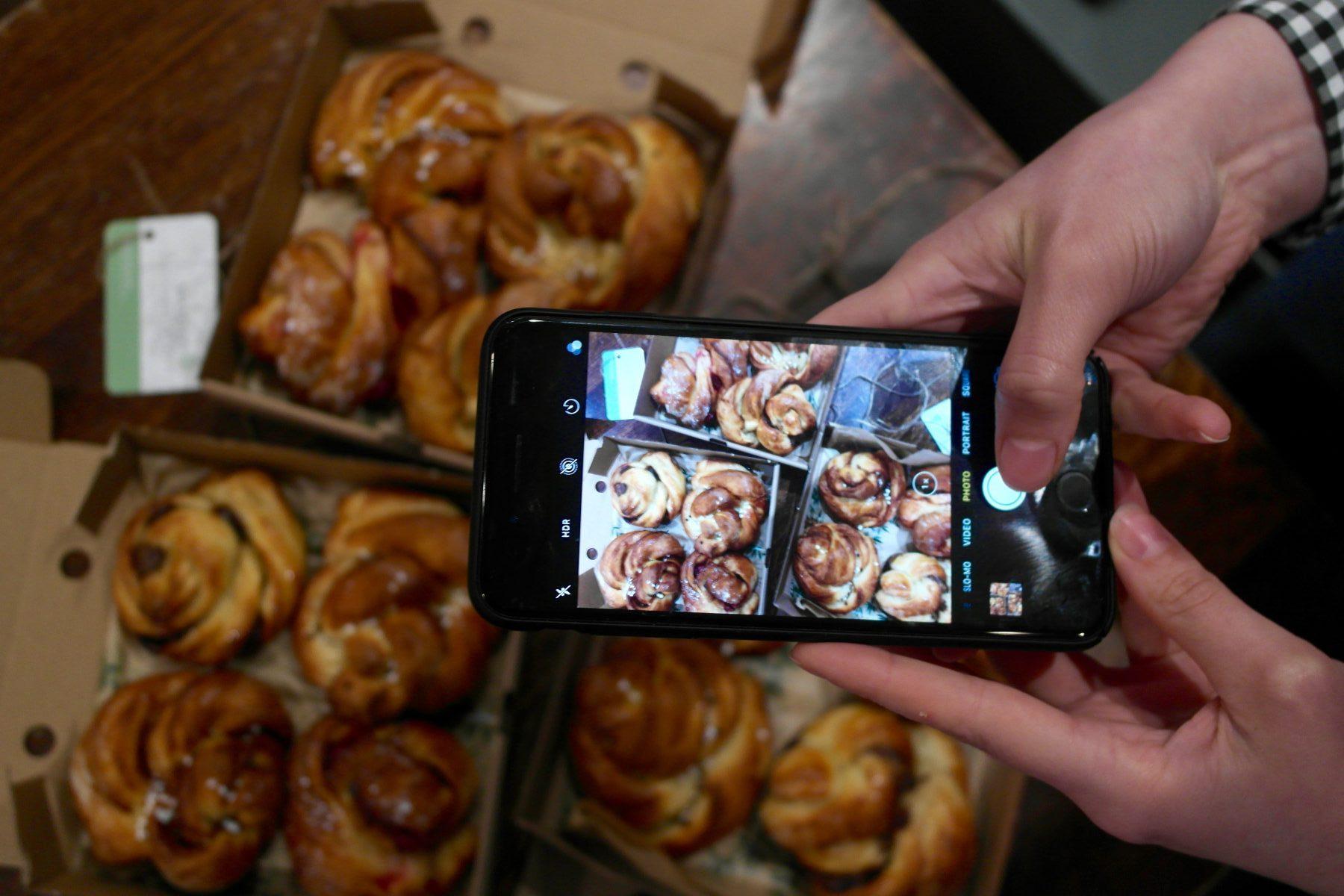 Skogen Kitchen buns for bun ordering service