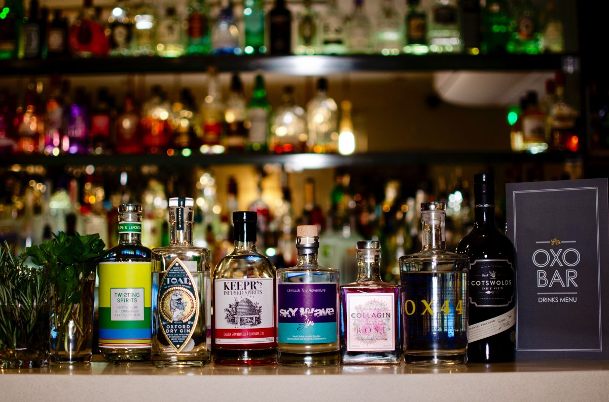 Oxfordshire Gins, Bitten Oxford   Image Credit Shannon Dudley Photography