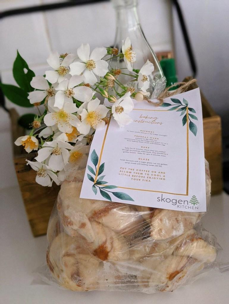 Skogen Kitchen bake at home cinnamon buns   Image credit Bitten Oxford