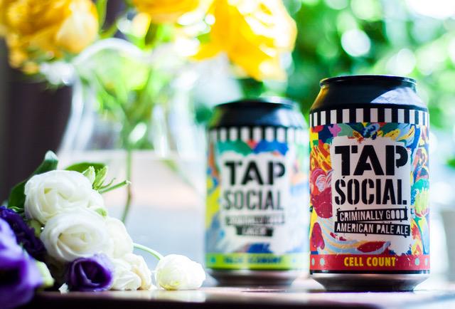 Tap Social Beer Can Art