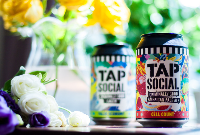 Tap Social Beer Can Art