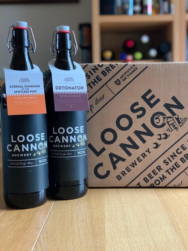 New Loose Cannon 1 litre beer bottles
