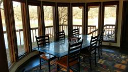 tour dining area lake view