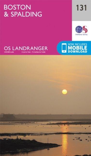 OS Landranger - 131 - Boston & Spalding