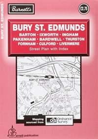 Barnett Bury St Edmunds Street Plan