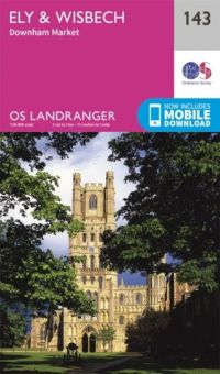 OS Landranger - 143 - Ely and Wisbech