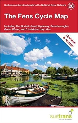 Sustrans 20 The Fens Cycle Map