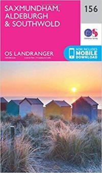 OS Landranger - 156 - Saxmundham, Aldeburgh & Southwold