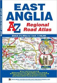 A-Z East Anglia Regional Road Atlas
