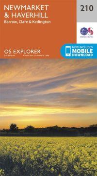 OS Explorer - 210 - Newmarket & Haverhill