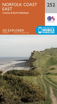 OS Explorer Map 252 - Norfolk Coast East
