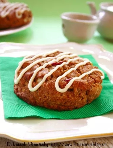 Apple Ginger Scones