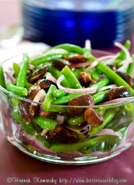 Bohnen Salat (Austrian Bean Salad)