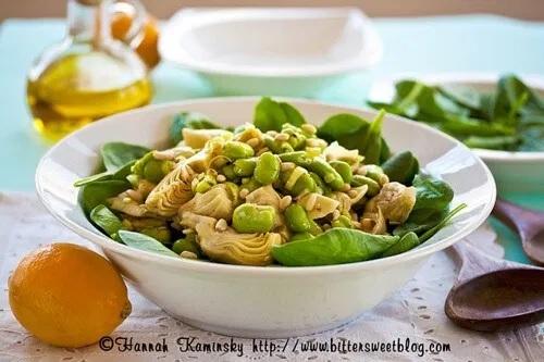 Spring Fava Bean Salad
