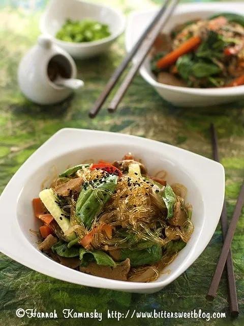 Kelp Noodle Japchae