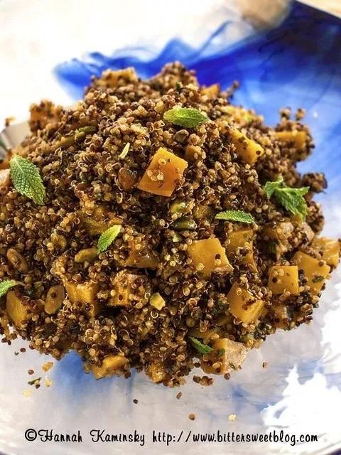 Pistachio-Quinoa Pilaf
