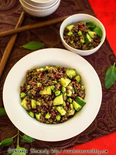 Pomegranate Mint Couscous