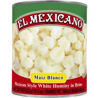 El Mexicano White Hominy (29oz single)