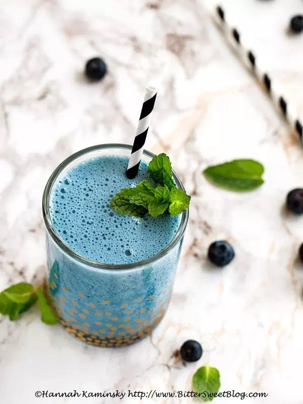 Blue Moon Frappe