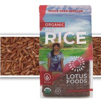 Lotus Foods Gourmet Organic Red Rice, 0.94 Pound (Pack of 6)