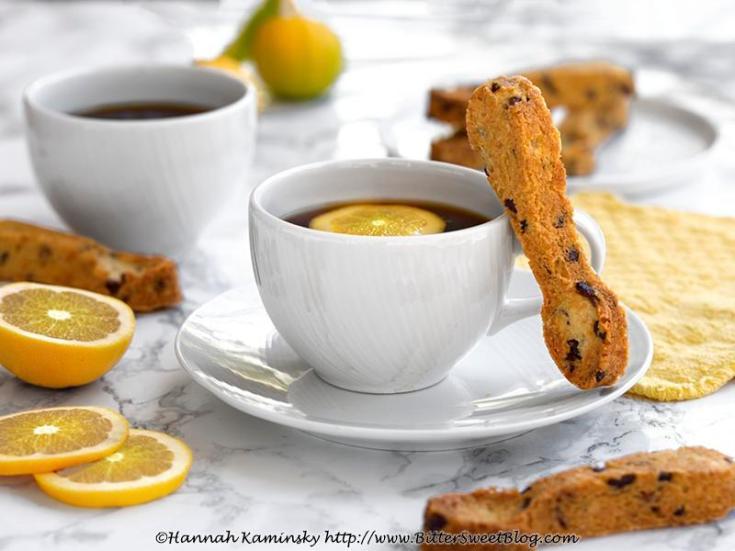 Lemon-Cacao Crunch Shortbread Cookies