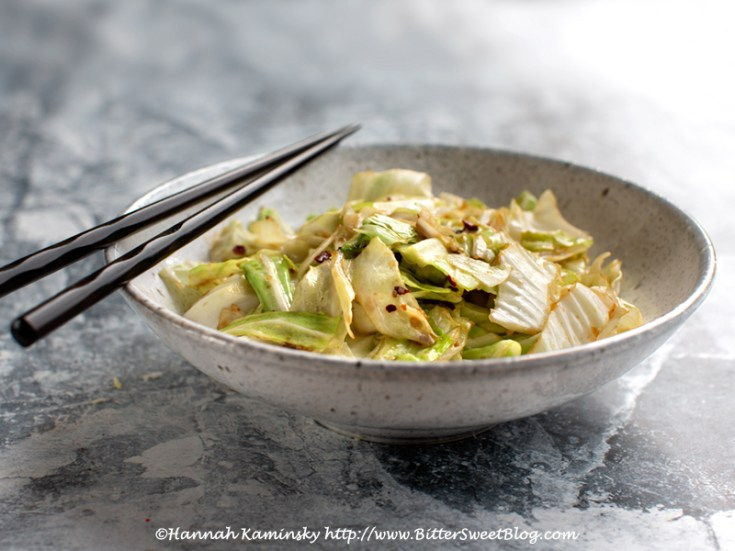 Stir-Fried Taiwanese Cabbage