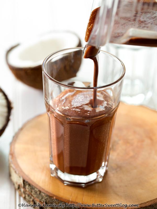 Calming CocoaNut Malt Shake