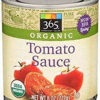 365 Everyday Value, Organic Tomato Sauce, 8 oz