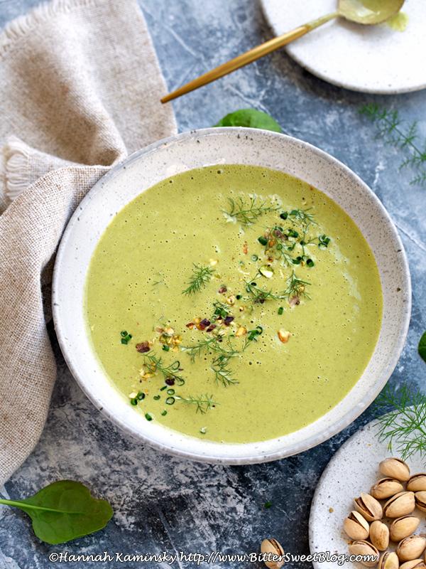 Cream of Pistachio Soup