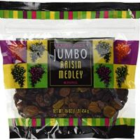 Trader Joe's Jumbo Raisin Medley, 16 oz NET WT