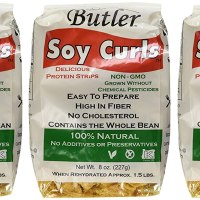 Butler Soy Curls, 8 oz. Bags (Pack of 3)