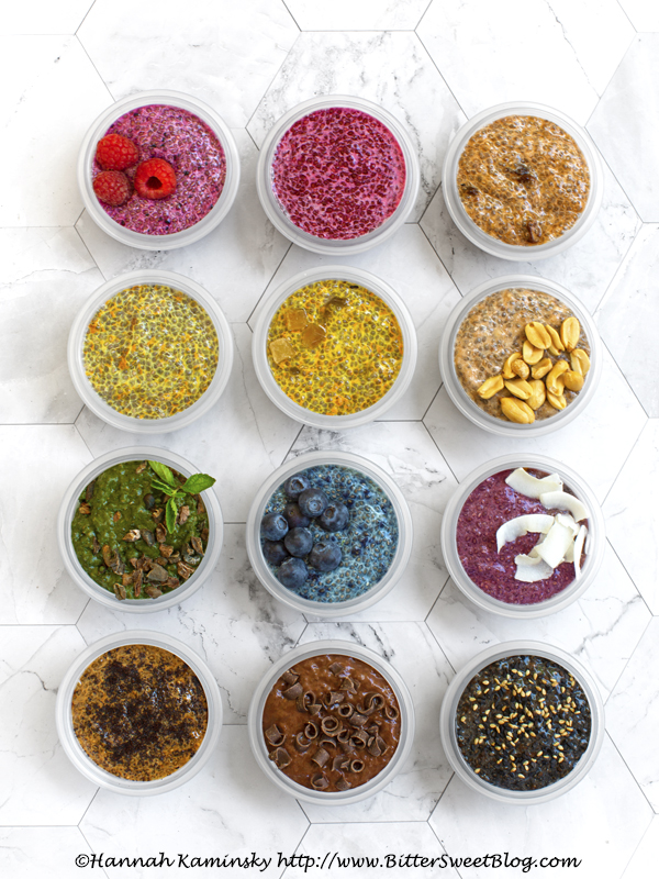 Choose-Your-Own-Adventure Chia Puddings