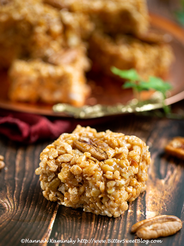 Sweet Potato Pie Crispy Rice Treats