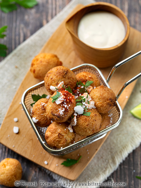 Elote Hush Puppies