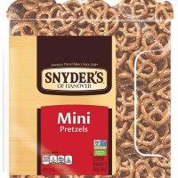 Snyder's of Hanover Mini Pretzels, 40 Oz Canister