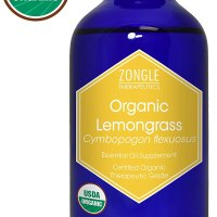 Organic Lemongrass Essential Oil 1 oz.