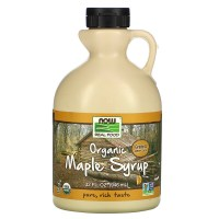 Now Foods, Real Food, Organic Maple Syrup, Grade A, Amber Color, 32 fl oz (946 ml)