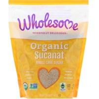 Wholesome, Organic Sucanat, Whole Cane Sugar, 2 lb (907 g)