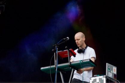 Krrum live at Bingley Festival
