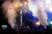 Manic Street Preachers live at Bingley Festival