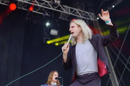 Sundara Karma live at Bingley Festival