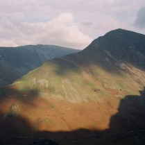 View over Fleetwith Pike, Lake District